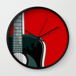 LET'S PLAY THE QUITAR Wall Clock