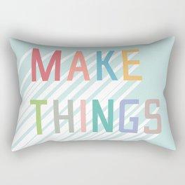 Make Things Rectangular Pillow