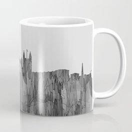 Bath, England Skyline - Navaho B&W Coffee Mug