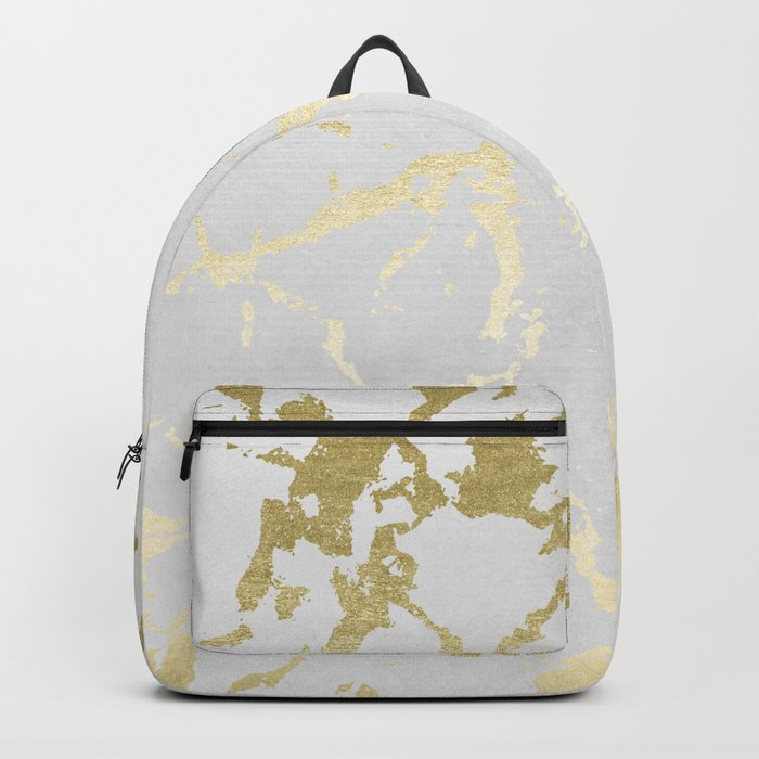 Kintsugi Ceramic Gold on Lunar Gray Backpack