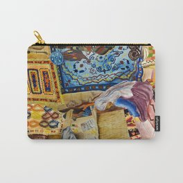 Turkish Rug Weaver by Nadia J Art Carry-All Pouch