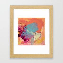As The Sun Sets Framed Art Print