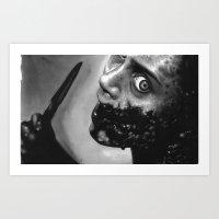 evil dead Art Prints featuring evil dead by dollface87