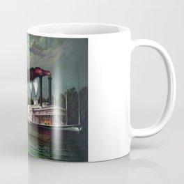 Race Of The Steamers Robert E. Lee and Natchez Coffee Mug