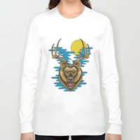 beer Long Sleeve T-shirts featuring Beer by Travis Butchart
