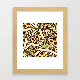 Pizza Heaven Framed Art Print
