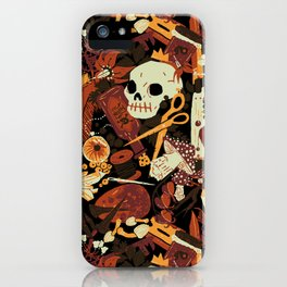 Witchy (Harvest Moon Variant) iPhone Case