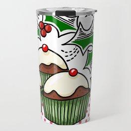 Holly Jolly Holiday Baking Travel Mug