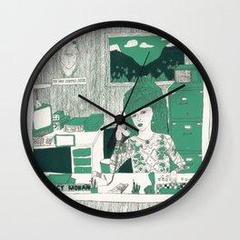 TWIN PEAKS: Lucy Moran Wall Clock