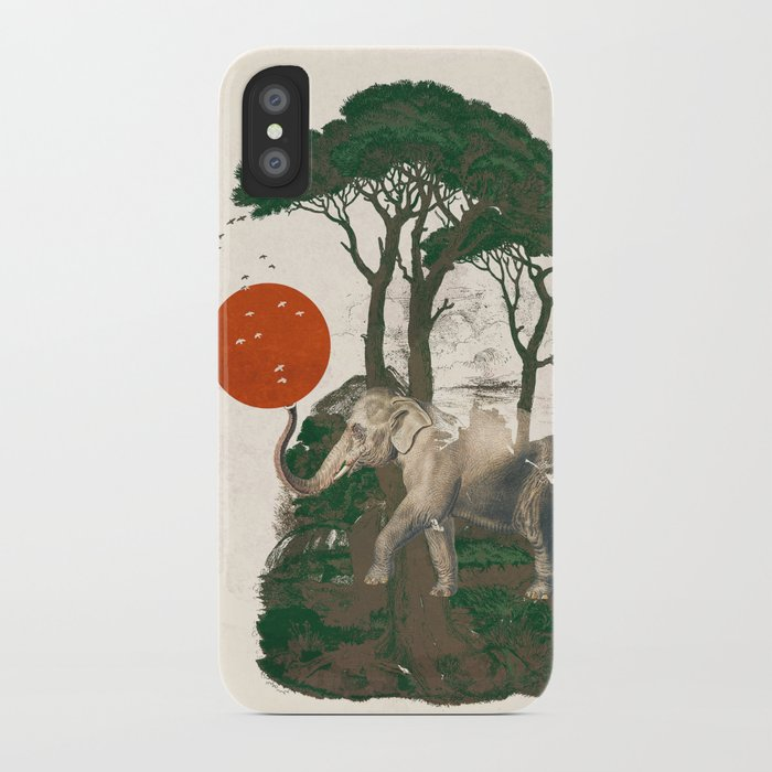 Savanna Sunrise iPhone Case