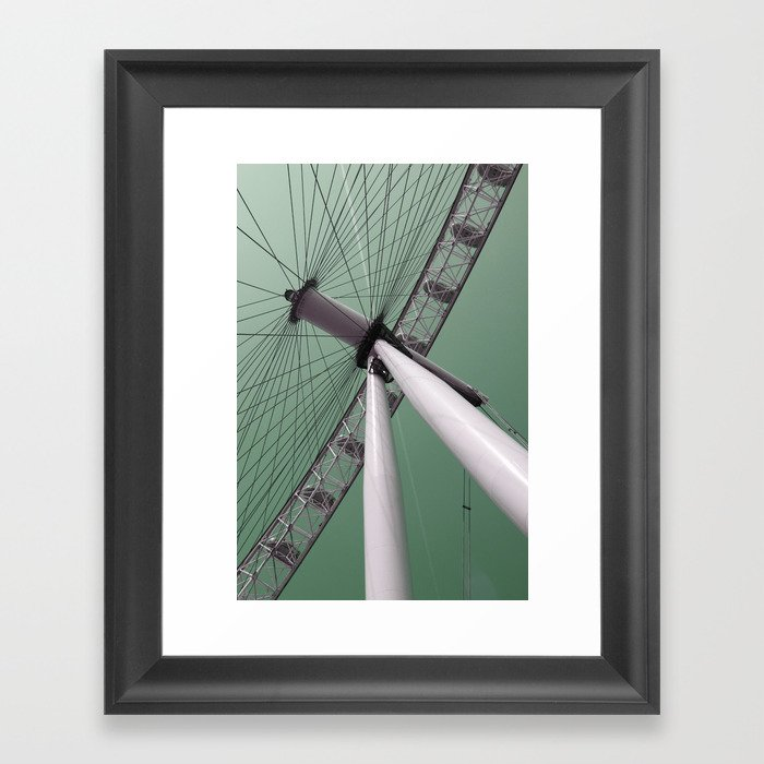 london eye 02 Framed Art Print