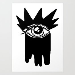 Visible Ink Art Print