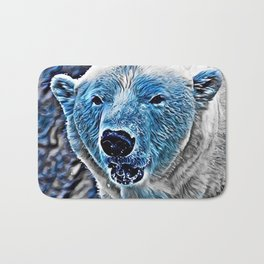 BLUE - Polar Baer Bath Mat