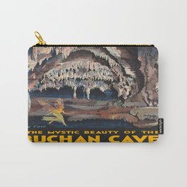 Vintage poster - Buchnan Caves Carry-All Pouch