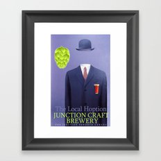 #SUPERCONDUCTOR : The Local HOption Framed Art Print