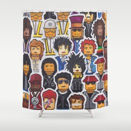 Mix Tape Vol. #1 Shower Curtain
