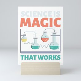 Science Is Magic Science Nerd Mini Art Print