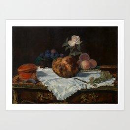 Edouard Manet, 1870 -The Brioche Art Print