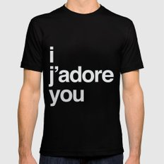 i/you Mens Fitted Tee MEDIUM Black