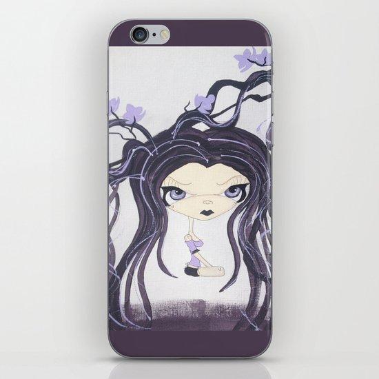 Twisted Lil Purple Nymph iPhone & iPod Skin
