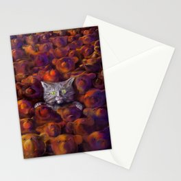 Leaves of Bears Stationery Cards