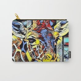 Color Kick - Giraffe Carry-All Pouch