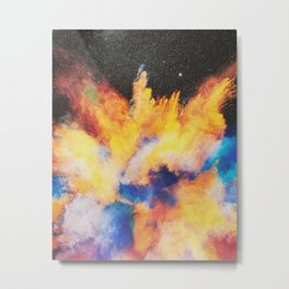 Lovebomb Metal Print