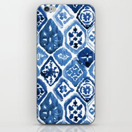 Arabesque tile art iPhone Skin