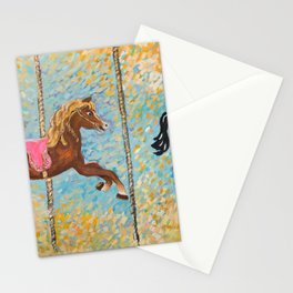 Matilda the Vintage Carousel Horse Stationery Cards