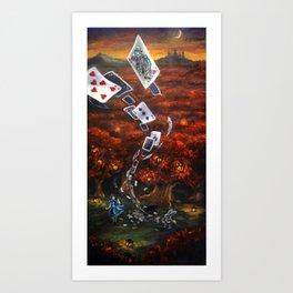 52 Pick up Art Print