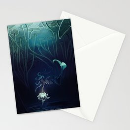 Mermaid and the Lily Stationery Cards