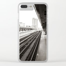 South Bound Clear iPhone Case