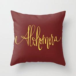 Alohomora Throw Pillow