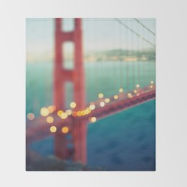 Meet Me In San Francisco Throw Blanket
