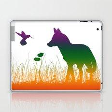 Le Renard et le Colibri Laptop & iPad Skin