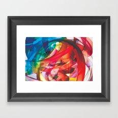 Clusters on mind #1 Framed Art Print