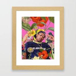 PLANT COLLAGE 2 Framed Art Print