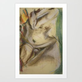 Klooster Series: Male Nude #26 Art Print