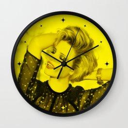 Dianna Agron - Celebrity (Florescent Color Technique) Wall Clock