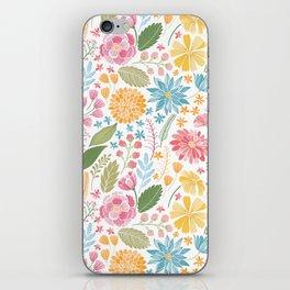 Such Pretty Summer Flowers iPhone Skin