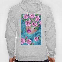 Lady with Camellias Hoody