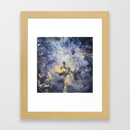 Peace - No matter what is around us, Peace must prevail Framed Art Print