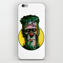 Frankensteins Monster is tired iPhone Skin