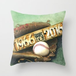 Hellman 50 Years Throw Pillow