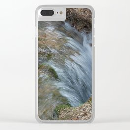 Water Flow Clear iPhone Case