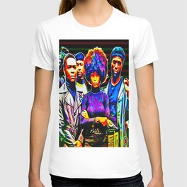 """BLACK POWER: WHO STOLE THE SOL?"" T-shirt"