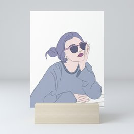 Fashion illustration - Girl Gang Prints - Blair Mini Art Print