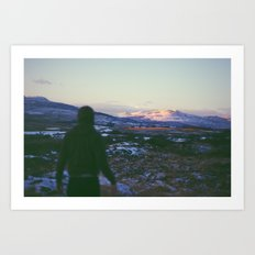 Looking Out To Snowdon Art Print