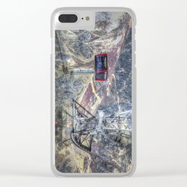 Mont Blanc Cable Car Clear iPhone Case