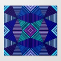tapestry Canvas Prints featuring Tapestry  by Truly Juel